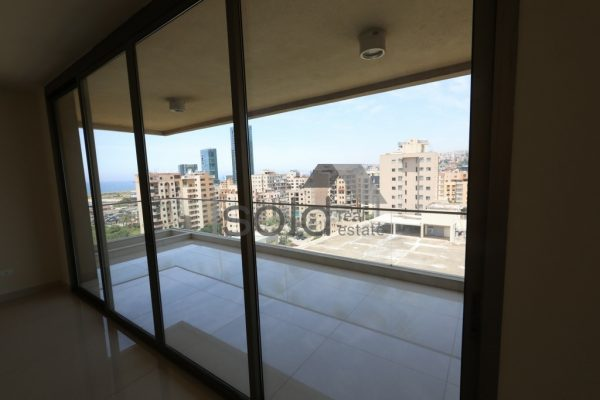 Apartment for sale in Antelias with an open sea view