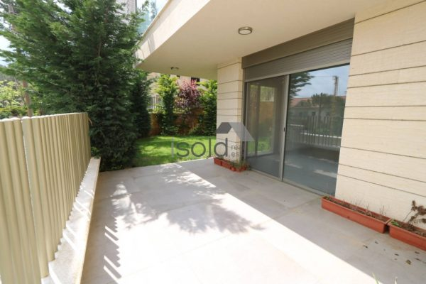 Apartment with a garden for sale in Dahr El Souane