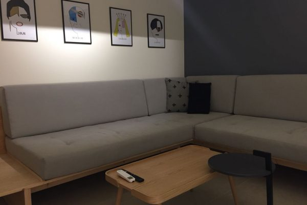 Furnished apartment for rent in Achrafieh-Saydeh